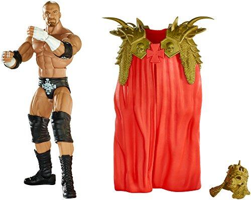 WWE – Elite Collection – Triple H – Figurine Articulée 15 cm