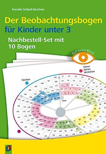 Auf einen Blick: Der Beobachtungsbogen für Kinder unter 3: Nachbestellset mit 10 Bogen