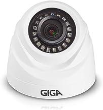 Câmera de Segurança Dome Plástica 720P HD Infra 20M, Giga, Branco