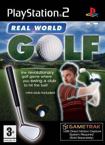 Gametrak: Real World Golf+ Schläger für PS2 engl. Spiel + Golfschläger
