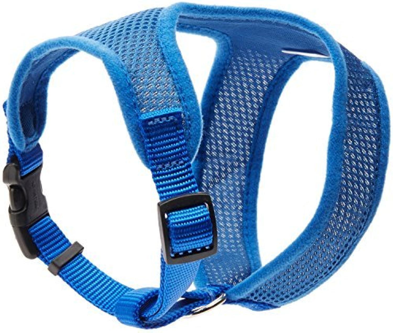Coastal Pet Products DCP6413blue Nylon Comfort Soft Adjustable Dog Harness, XSmall, bluee by Coastal Pet