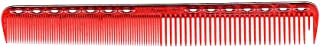 YS Park Cutting Comb #339 In Ruby Red from ProHairTools