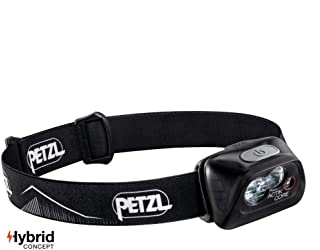 PETZL - ACTIK CORE Headlamp, 450 Lumens, Rechargeable, with CORE Battery