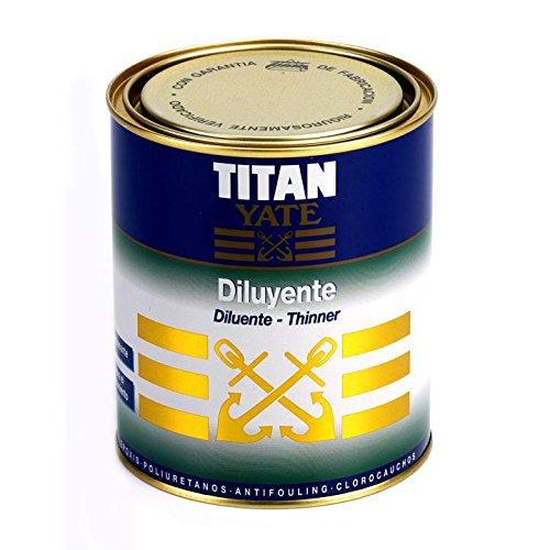 Titan 74000101 - Diluyente para yates Titan Yate 1 L