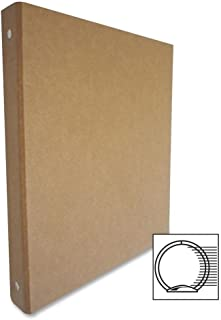 Aurora Products 10251 3-Ring Binder, Recycled, 0.5 in., Brown/Kraft