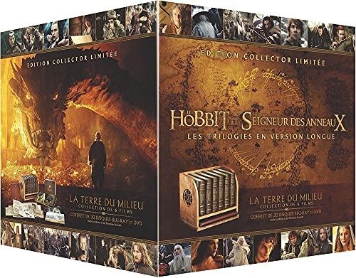 Blu-ray le hobbit et le seigneur des anneaux, les trilogies
