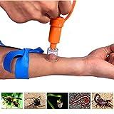 STL エクストラクター ポイズンリムーバー 蚊 蜂 蛇対策 毒液・毒針を吸引 アウトドア応急用品 (ポイズンリムーバー)
