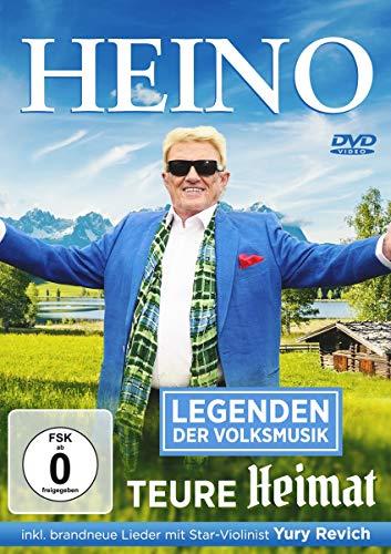 Heino - Teure Heimat - Legenden der Volksmusik (inkl. brandneue Lieder mit Star-Violinist Yury Revich)