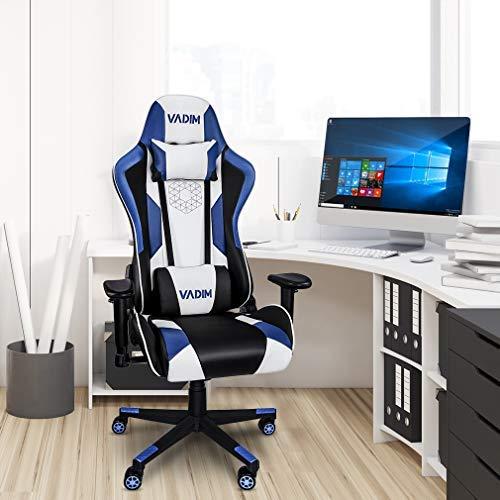 VADIM - Sedia da gaming, ergonomica, da ufficio, per gaming, per il comfort dei videogiochi
