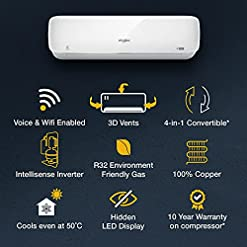 Whirlpool 1.5 Ton 3 Star Wi-Fi Inverter Split AC