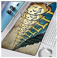 マウスパッド マットXXLコンピューターゲームゲーマーグランデマウスパッドキーボードゲームPCプレイマット (サイズ_2)800×300×3mm