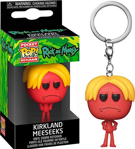 Funko Rick & Moty Keychain Kirkland Meeseeks, Multicolor (44251)