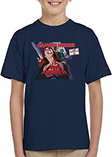Hammer Horror Films Hands of The Ripper Poster Kid's T-Shirt