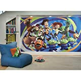 RoomMates JL1204M Toy Story 3 Water Activated Removable Wall Mural - 10.5 ft. x 6 ft.