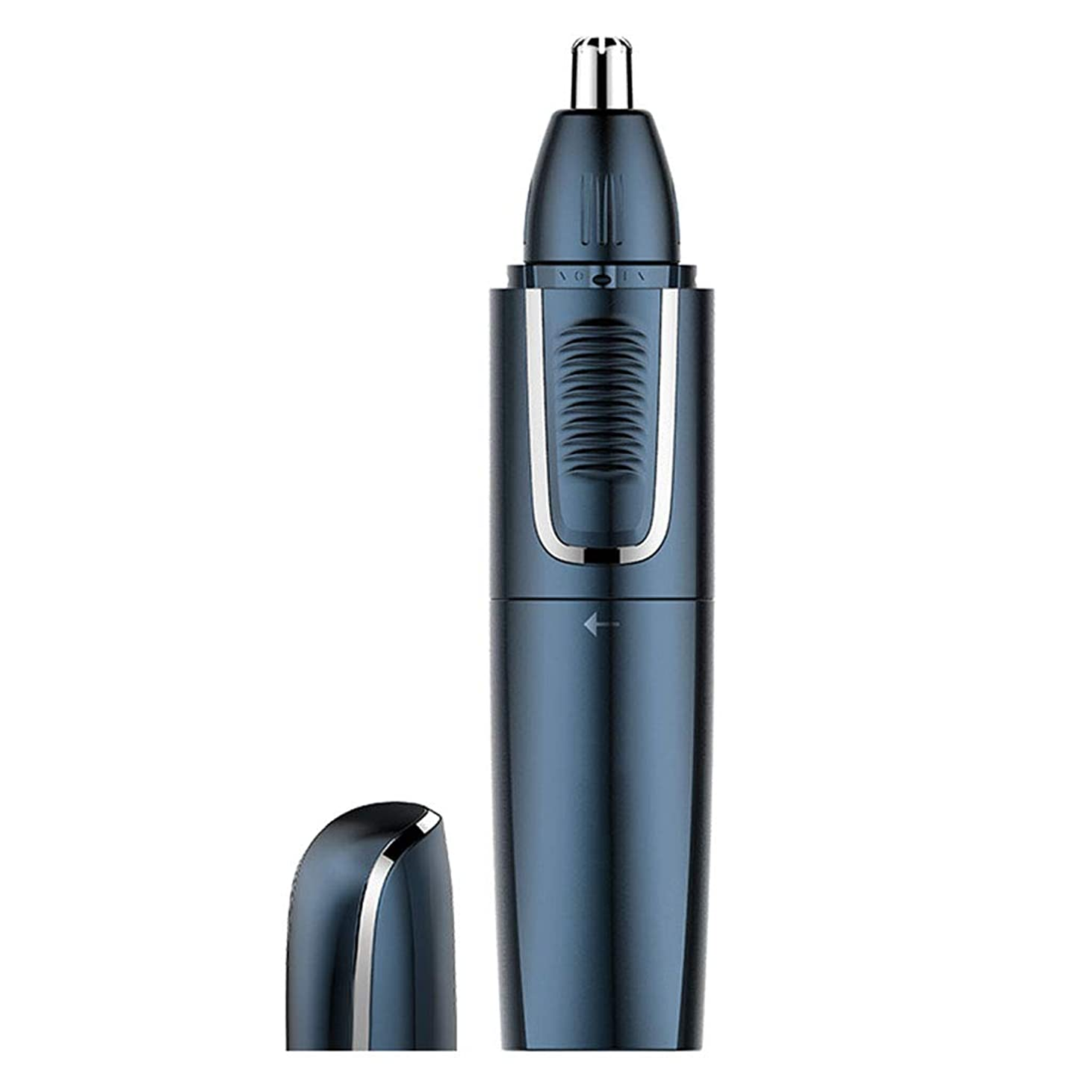 取り戻す設置色合いノーズヘアトリマー、スリーインワントリマー、USB充電式防水ネットトリムヘッドアンチクリップは鼻腔を傷つけません、男性と女性用