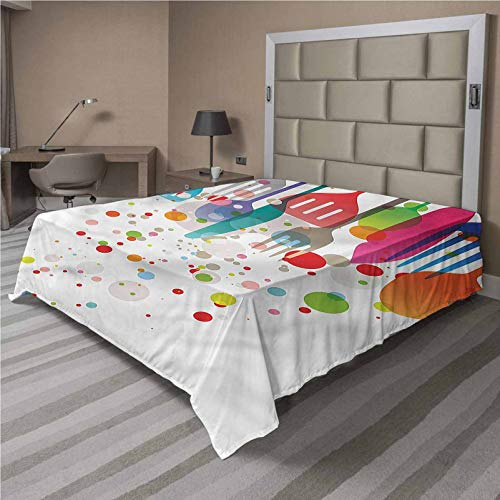 LCGGDB Colorful Flat Sheet Only,Home Kitchenware Modern Brushed Microfiber Bedding Top Sheet, Ultra Soft Bed Flat Sheets,1 Piece,Twin Size,Fit for Oversize and Extra Height Twin Bed