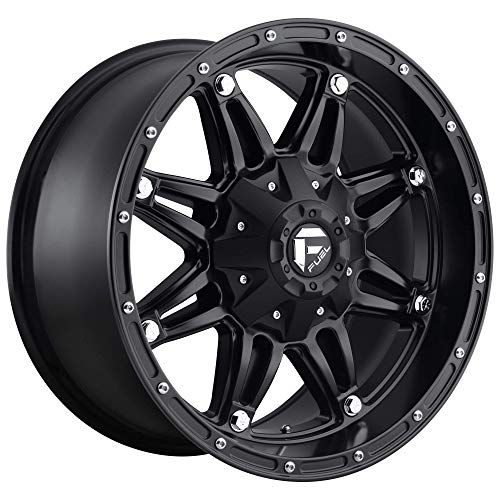 FUEL Hostage BD -Matte BLK Wheel with Painted (20 x 10. inches /8 x 165 mm, -18 mm Offset)