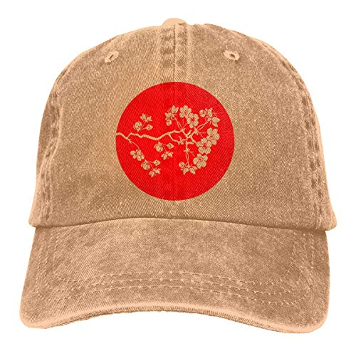 XCNGG Gorra de béisbol de Mezclilla de algodón Rojo con...