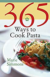 Photo of the cover of 365 Ways to Cook Pasta by Marie Simmons.