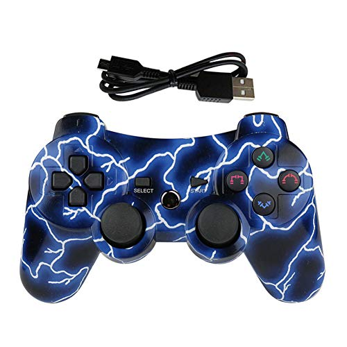 Mando PS3 Inalámbrico para PS3 Controller Bluetooth para Playstation 3 - Deep Blue