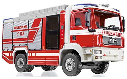 Wiking 043197 - Feuerwehr - Rosenbauer at LF (Man TGM) - 1:43