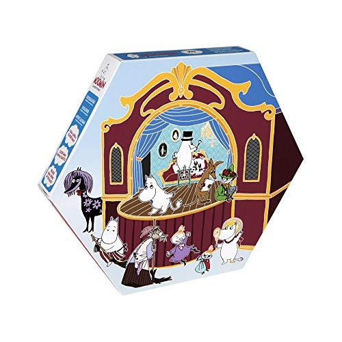 今年は24体すべてキャラクターのフィギュア!10周年を迎えたムーミンのアドベントカレンダー2019は、エンマの劇場がテーマ