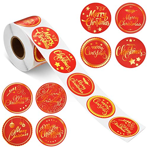 Etiquetas Adhesivas Navidad 500 Marca Outus