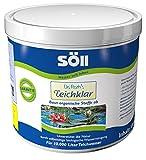 Söll 10071 Dr. Roth's Teichklar mikrobiologische Teichreinigung und Algenprophylaxe 500 g - schadstoffabbauende Mikroorganismen für natürliche Wasserklärung im Teich Schwimmteich Fischteich