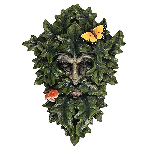 Tree Face Garden Sculpture Wall Plaque, Ivy Man of the Woods, for indoor - outdoor use Great Gift Idea