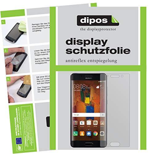 dipos I 6x Protector de Pantalla Mate compatible con Huawei Mate 9 Pro pelicula Protectora