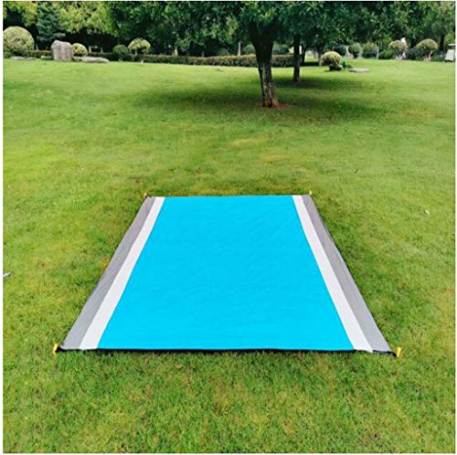 GAOZHEN Outdoor Beach Mat Picnic BlanketWaterproof Portable Picnic Beach Blanket,SandproofReinforced Edging for Beach,Park,Camping,Hiking & Family Concerts145x150cm