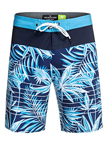 Quiksilver Herren Highline Drained Out 19 Zoll Boardshort, Electric Royal, 32