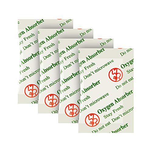 200CC(100-Pack) Sauerstoff Absorber Sauerstoffabsorber für Lebensmittel,Food Grade Oxygen Absorber for Food Strorage.