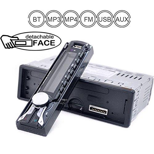 PolarLander la Radio de Coche de Audio FM/USB/SD / MP3 Player Receptor Bluetooth de Manos Libres