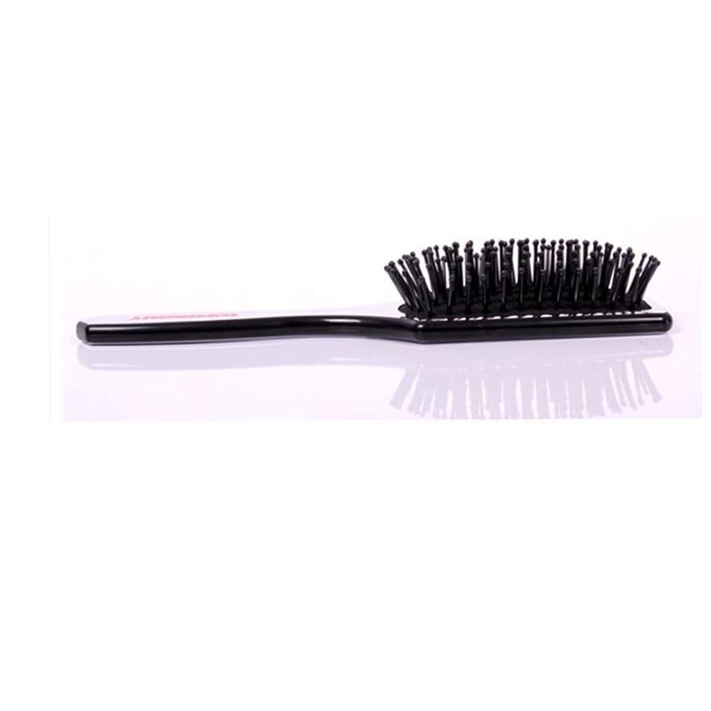 乳剤ディンカルビル第Fashianヘアブラシマッサージ髪の毛と頭皮の熱と耐久性のある帯電防止スタイリングくしサイズL/S モデリングツール (サイズ : S)