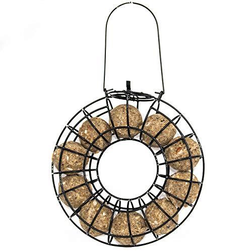 Paul´s Mühle Ganzjahresknödel mit Insekten 2 x 100 Stück +1 Meisenknödel Rondell