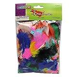 Creativity Street Turkey Plumage Feathers, Assorted Bright Hues, 0.5-oz. (AC4500-01)