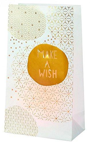 Roues hiver luminaria ensemble make a wish