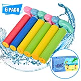 balnore 6 Conjunto Pistola de pulverización de Agua Espuma Coloridas niños Espuma Pistola de Agua Pistola de Agua Pistola de Agua Juguetes para niños para niños y niñas