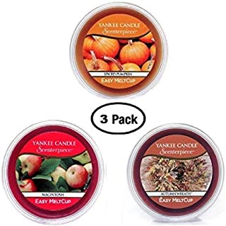 Yankee Candle Holiday, Fall Favorites Meltcups (3P Fall List)