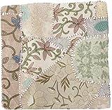 Guru-Shop Patchwork Kissenhülle, Dekokissen Bezug aus Rajasthan, Einzelstück - Muster 30,...