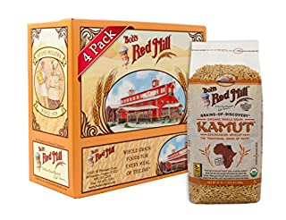 Bob's Red Mill Organic Kamut(R) Khorasan Wheat Berries, 24-ounce (Pack of 4) (B004VLSWFY) | Amazon price tracker / tracking, Amazon price history charts, Amazon price watches, Amazon price drop alerts