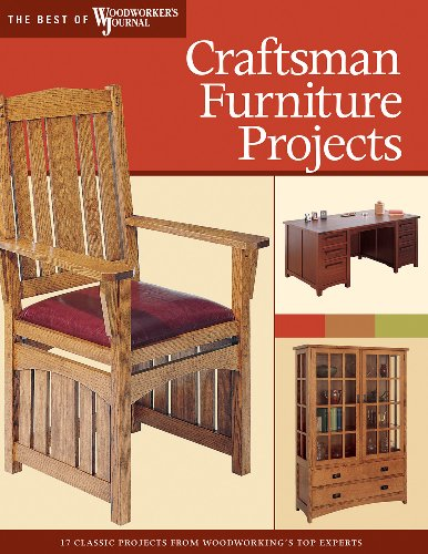 Craftsman Furniture Projects: Timeless Designs and Trusted Techniques from Woodworking's Top Experts (Best of The Woodworker's Journal)
