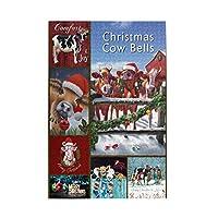 1000 ピース ジグソーパズル,Cow Christmas Day 牛のクリスマスの日 Picture Puzzle 大人 子供 の 木製パズル ジグソーパズル 知育減圧親子ゲーム 玩具クリスマス誕生日diyギフト クリスマス プレゼント ジグソーパズル