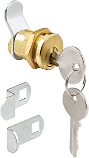 Defender Security S 4648 Mail Box Lock, 3 Cams, 5 Pin, Brass Plated, Pack of 1