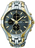 Seiko Men's SSC138 'Excelsior' Two-Tone Stainless Steel Solar Watch