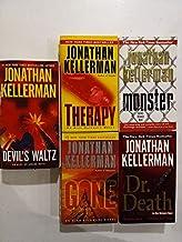 Set of 5 Alex Delaware Detective Novels: Therapy, Gone, Devil's Waltz, Monster, and Dr. Death