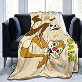 Talcholar C-Hip 'N Pretty D-Ale Cute Re-Scue Funny Ran-Gers Soft Micro Fleece Throw Blanket Plush All Season Tv Blanket for Bed Or Sofa 50' X40
