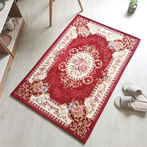 QWEASDZX Carpet Yoga Mat Jacquard Sofa Mat Living Room Rug Household Non-Slip Rug Decorative Rug 120x180cm