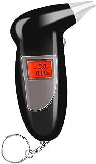 Honeytecs Bafômetro portátil do verificador do álcool da respiração para o pessoal e o carro